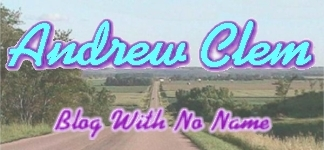 Andrew Clem Blog With No Name banner