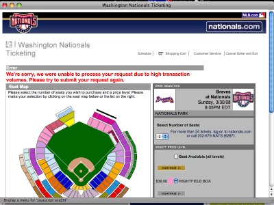 Nats ticketing 30 Mar 2008