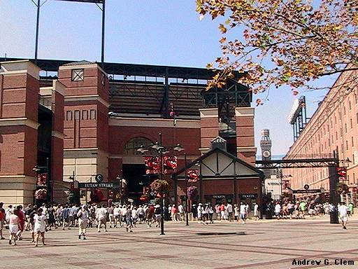 Camden Yards SE entry