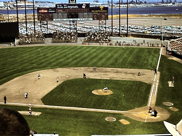 Candlestick Park 1961 grand view