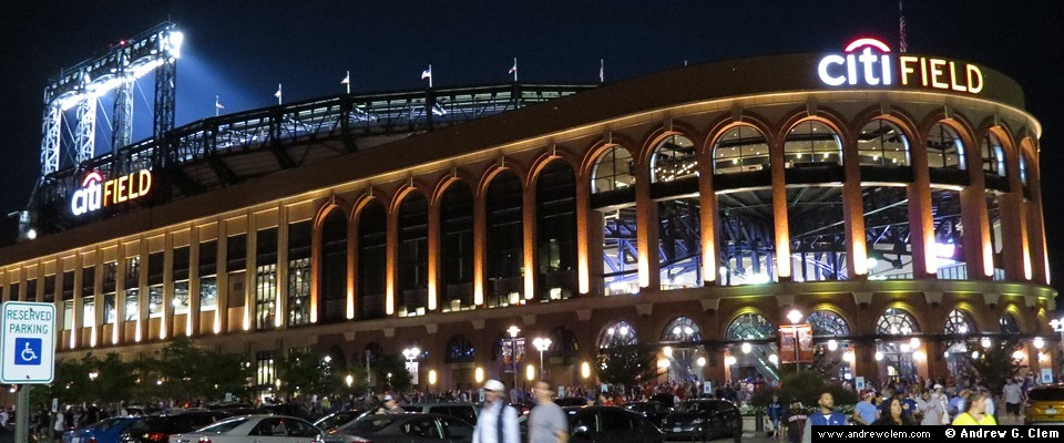 Citi Field ext night pan