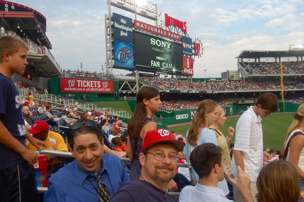 Dave, Andy at Nationals Park