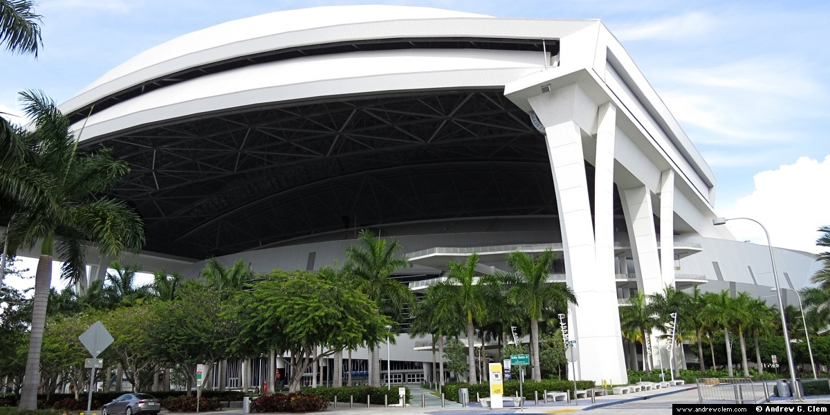 Marlins Park ext SW