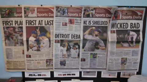 Kansas City Royals newspapers