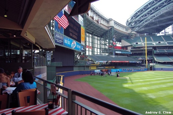 Miller Park center & right field