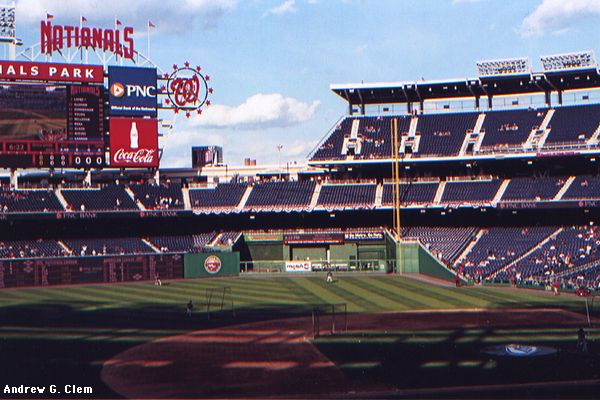 Nationals Park right field