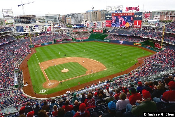 Nationals Park CF, Hampton Inn 2016