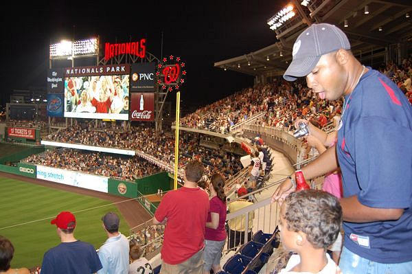 Nationals Park 7th Inning Stretch