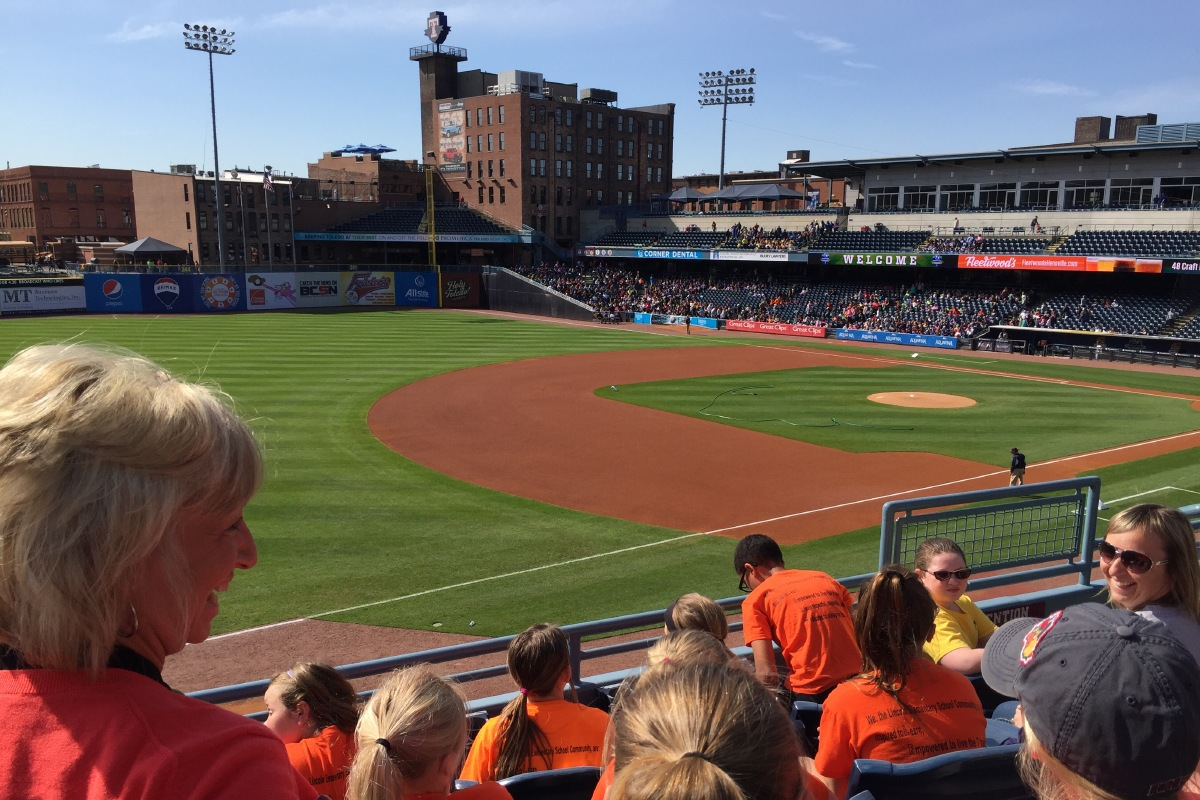 Fifth Third Field from 3rd Base