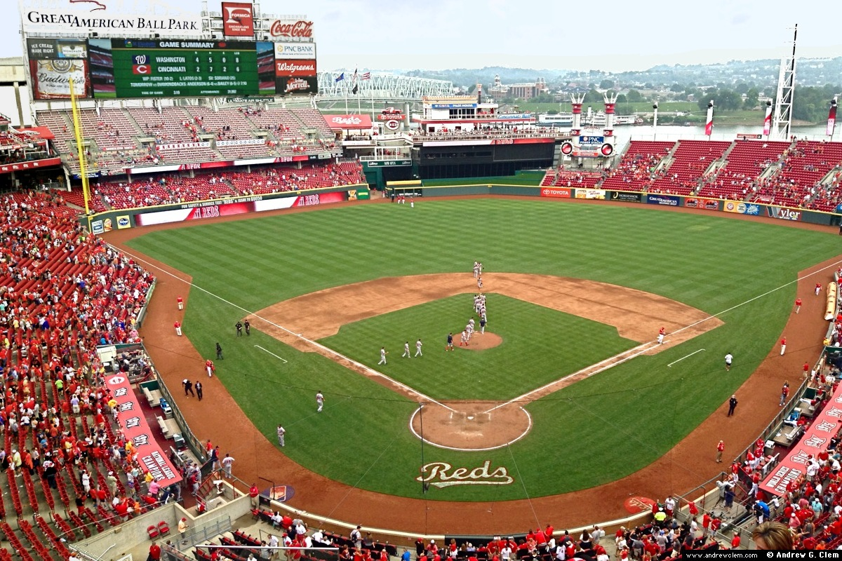 Great American Ballpark grand view