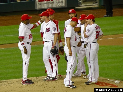 Dusty Baker, Max Scherzer, et al. 29 Jun 2016
