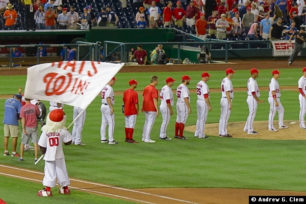 Nationals win, 29 Jun 2016