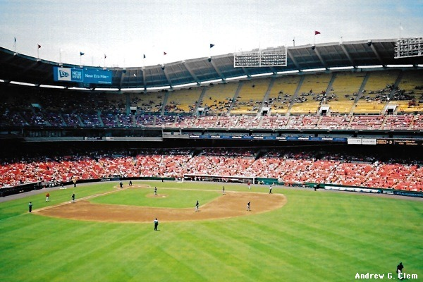 RFK Stadium from Right-Center Field