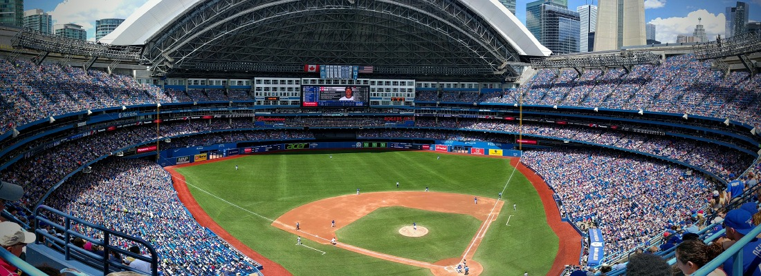 Rogers Centre panorama 2016