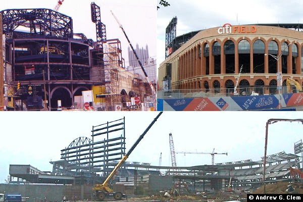 Baseball Stadium construction