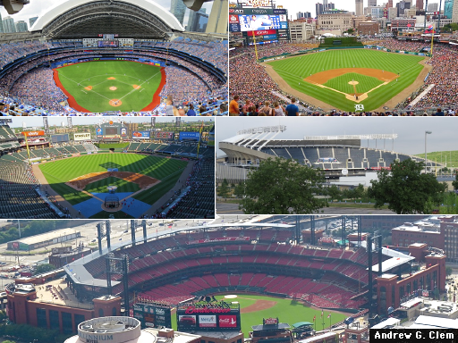 Stadiums - July, Aug. 2015