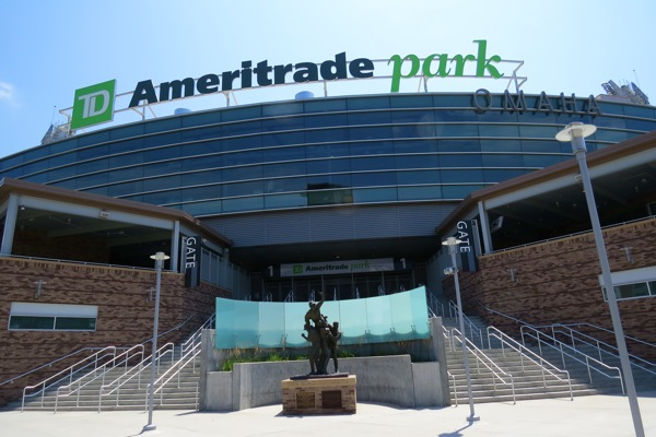 TD Ameritrade Park ext. NW