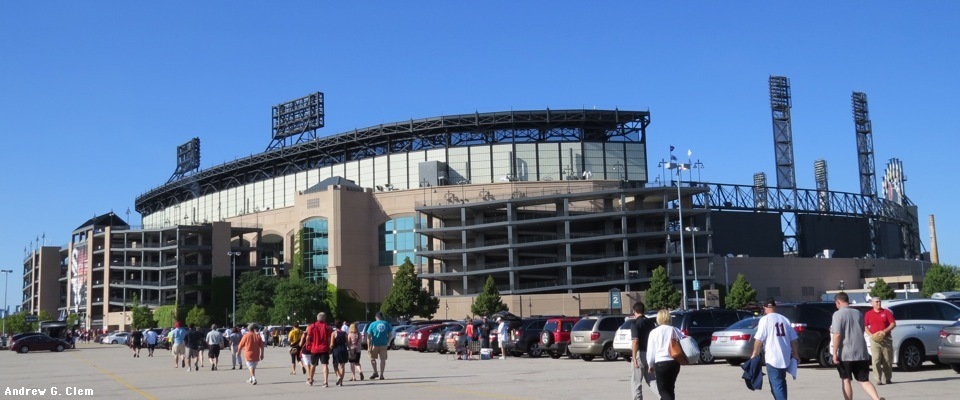 U.S. Cellular Field ext. southwest panorama