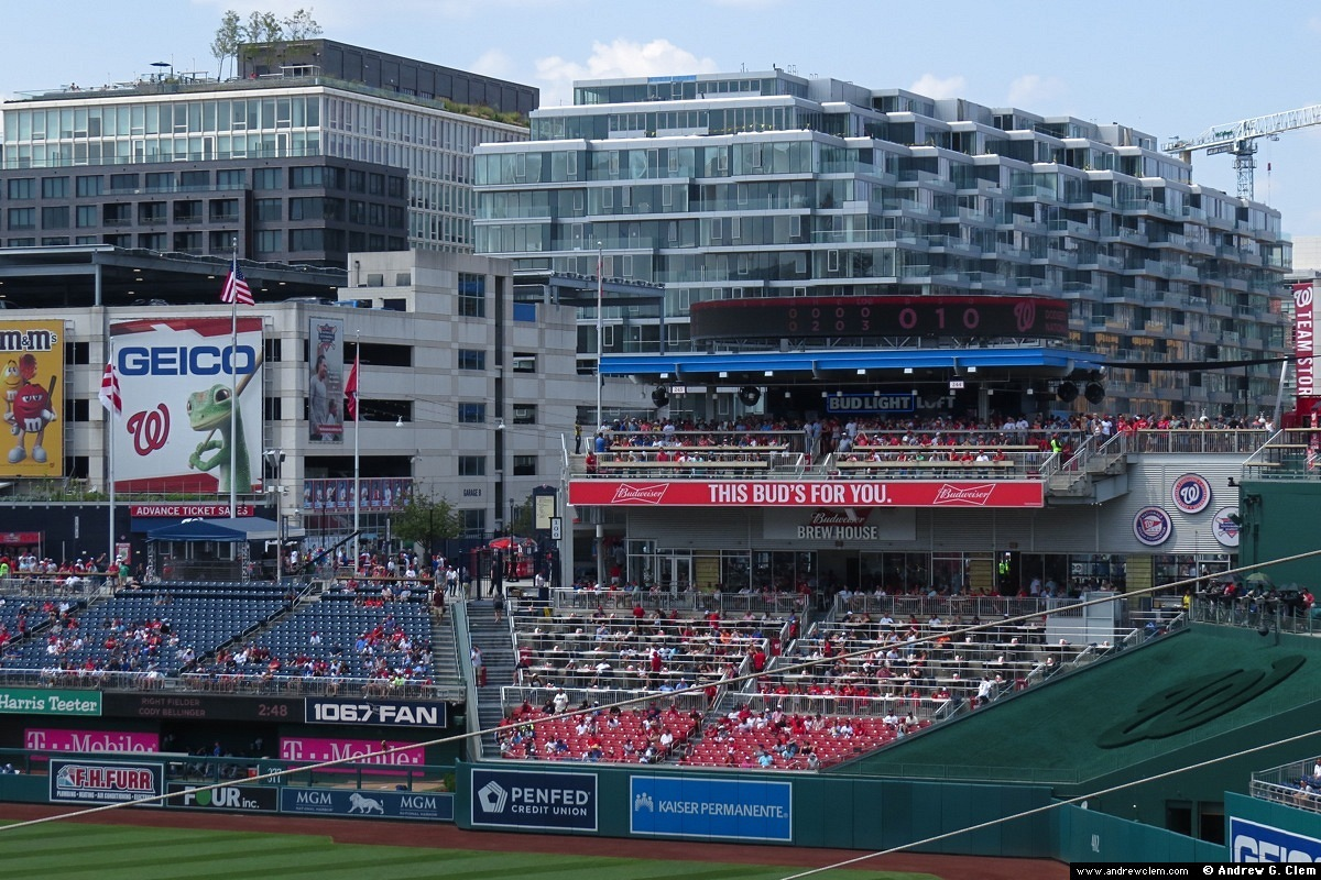 Nationals Park Red Porch, condos