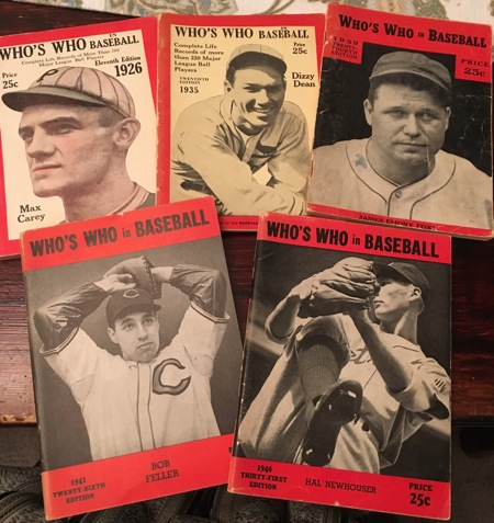 Who's Who in Baseball 1926-1946