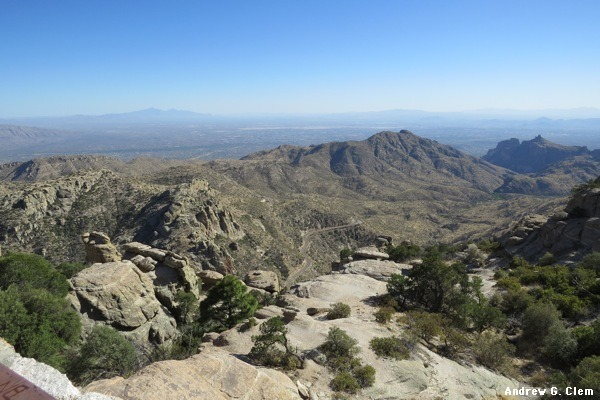 Santa Catalina Mountains, Tucson