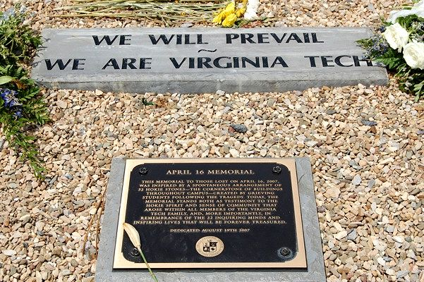 Virginia Tech Apr 16 memorial