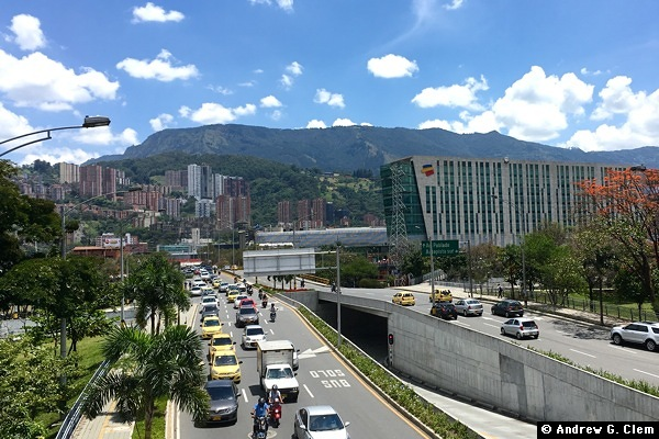Medellin 30th Street, Bancolombia building