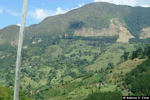 Mountain near Medellin