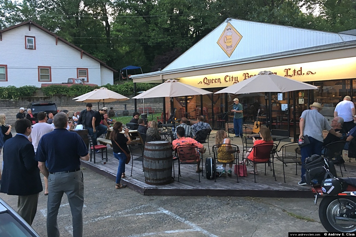 Queen City Brewing open mic 22 May 2019