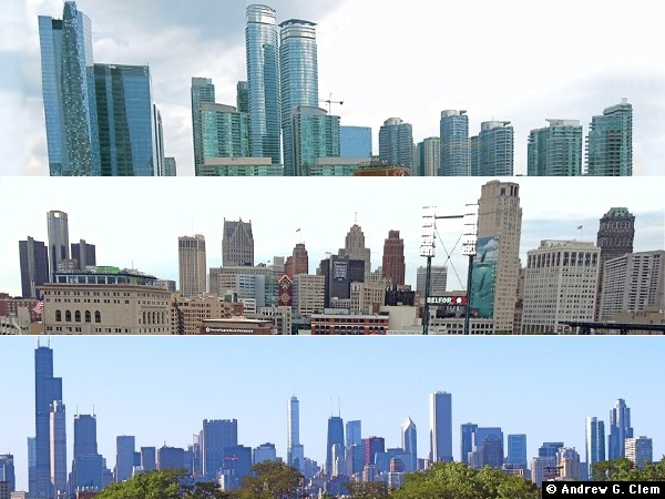 Toronto, Detroit, Chicago