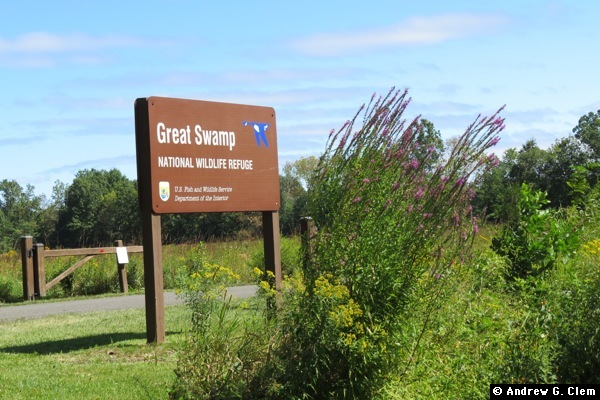 Great Swamp National Wildlife Refuge sign