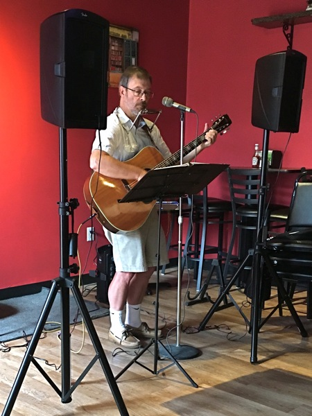 Andrew at Bedlam Brewing 23 Jul 2017