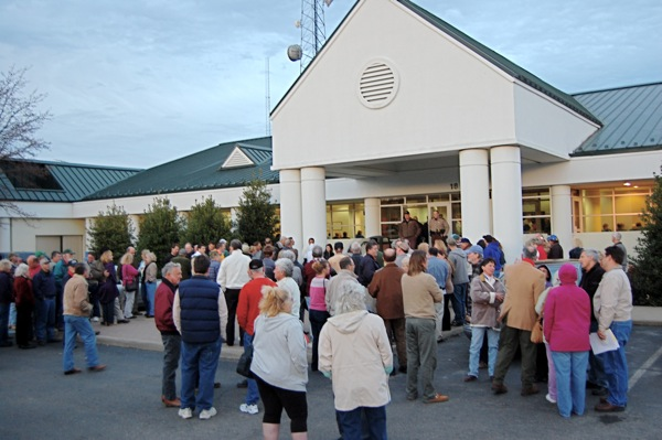 Augusta County Govt Center tax revolt