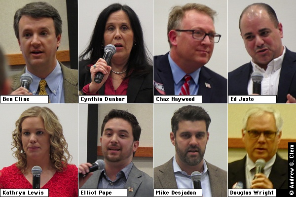 GOP 6th District candidate montage