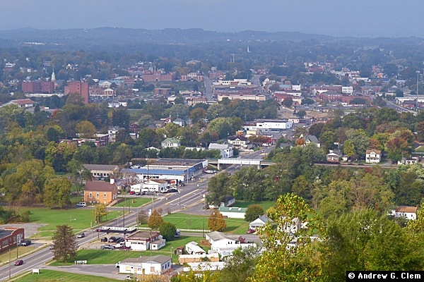 Waynesboro from east Oct. 2016
