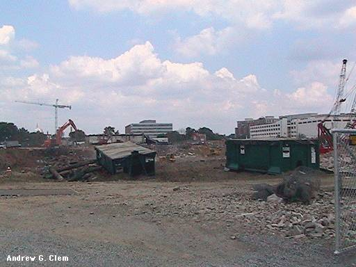Stadium construction June 2006