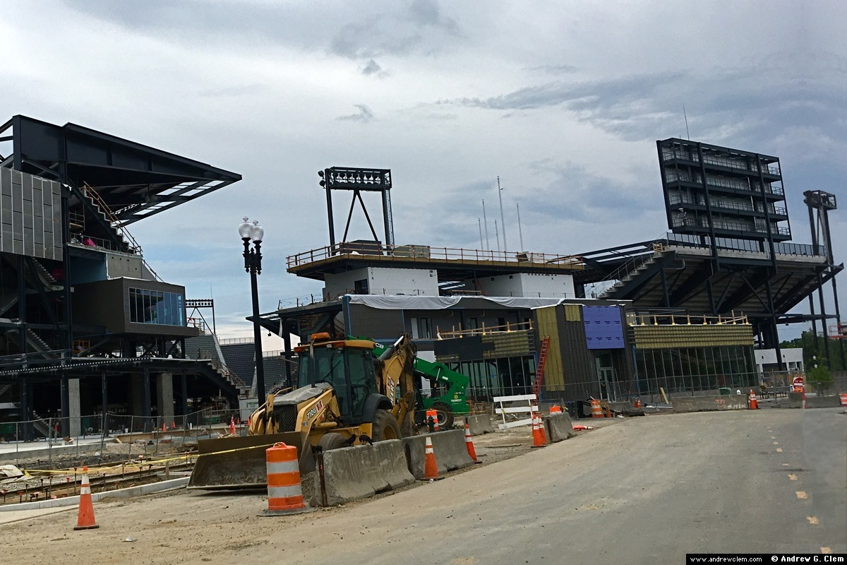 Audi Field construction NE